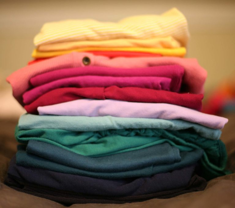 Wash Dry and Fold service is offered at our dry cleaning shops.