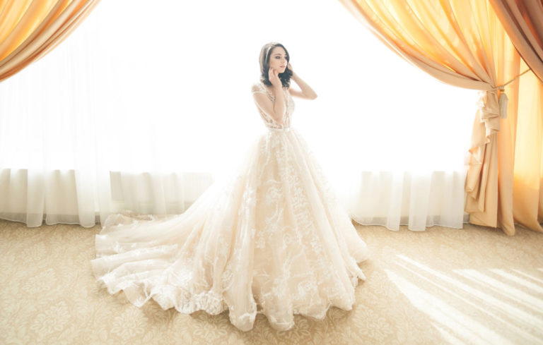 premium professional-grade wedding gown cleaning and preservation service